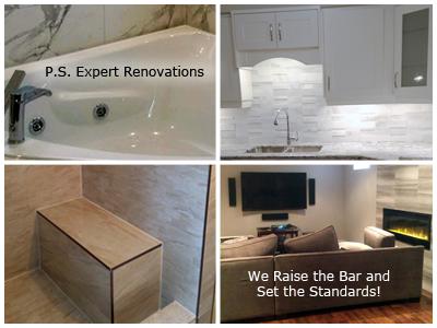 Kitchen, Bathroom and Basement Renovation